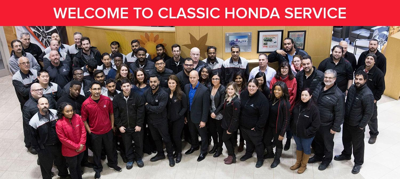 Classic Honda Service Department